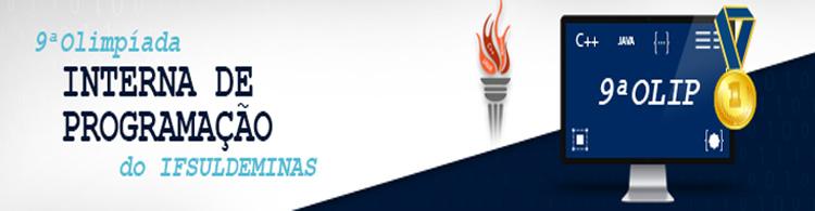 IFSULDEMINAS lança 9ª Olimpíada Interna de Programação (OLIP) para estudantes dos cursos técnicos e superiores de informática