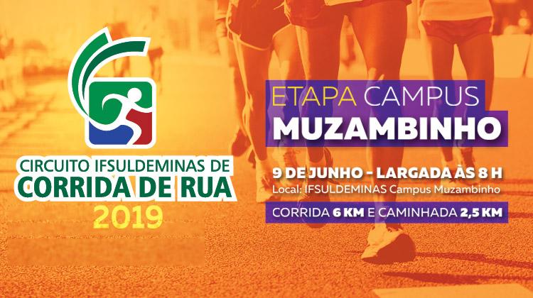 Circuito IFSULDEMINAS de Corrida de Rua – Etapa Campus Muzambinho