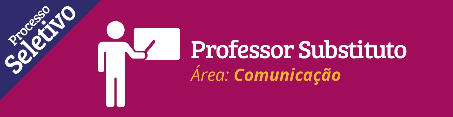 Inscrições abertas para contratação de professor substituto na área de Publicidade e Propaganda
