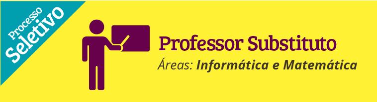 IFSULDEMINAS abre seleção para professor substituto nas áreas de Informática e Matemática