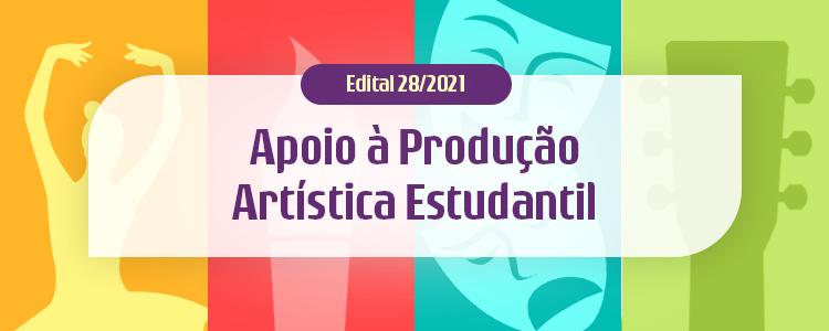 Projetos recebidos para o Edital de Incentivo à Produção Artística Estudantil